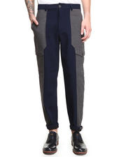 Pants - Color Blocked Pocket Pant