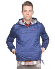 DJP OUTLET - M J Waterproof Polyester Pullover