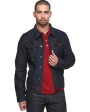 Jackets & Coats - Jimmy Denim Jacket w/ Stitch Detail