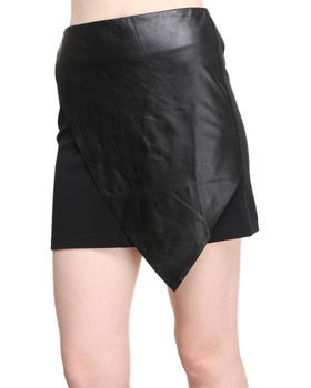 Women - CHIEF LEATHER SKIRT
