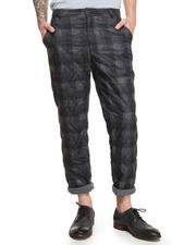 Pants - Quilted Plaid Pants