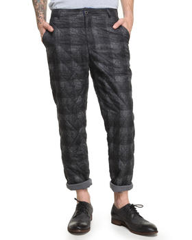 DJP OUTLET - Quilted Plaid Pants