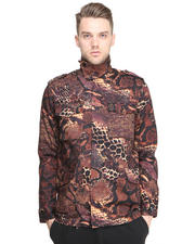 Jackets & Coats - Barerra Snake Print Car Coat