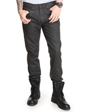 Straight - Archetype Straight Leg Brown Waxed Denim Jean