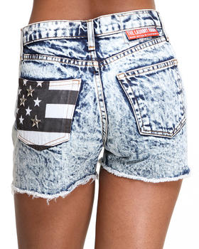 The Laundry Room - Black Flag Shorts