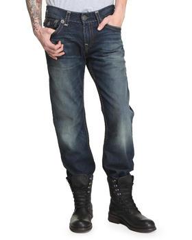 True Religion - Ricky Straight Olv/Grey Super T Jean