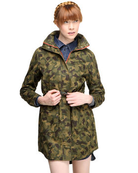 DJP OUTLET - Kait Camo Parka Jacket