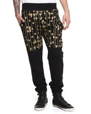 Pants - Trainers Gold Drip Dot Sweatpant