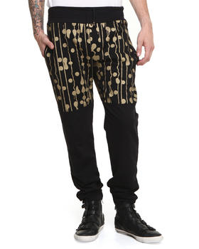 Sir New York - Trainers Gold Drip Dot Sweatpant