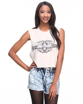The Laundry Room - Cray Cray Crop Tee