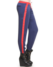 DJP OUTLET - Brie Relaxed Charmeuse Track Pants