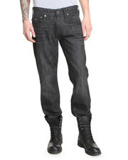 True Religion - Ricky Straight Snake Print Jean
