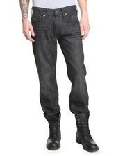 Denim - Ricky Straight Snake Print Jean