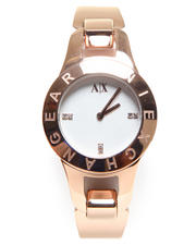 Watches - A/X Logo Bezel Watch 30mm