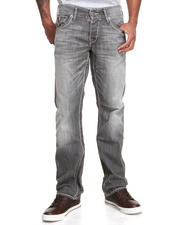 True Religion - Ricky Straight Leg Heavy Stitch Jean