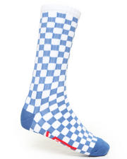 Men - Checkerboard Socks