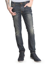 Straight - Grim Tim Organic Worn In Pepper Jeans