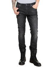 Men - Tape Ted Organic Black Briquette Jeans