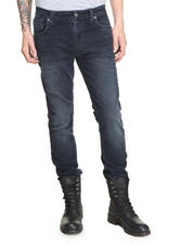Denim - Thin Finn Organic Blue Strike Jeans