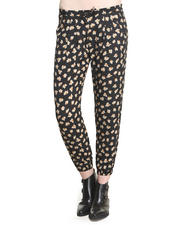 DJP OUTLET - Brie Relaxed Floral Track Pants
