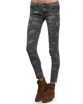 Cult Of Individuality - Camo Teaser Skinny Jeans