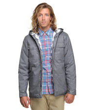 Jackets & Coats - Stinson Mountain Hooded Shirt Jacket