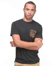 Vans - Black Cheetah Pocket Tee