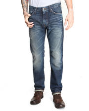 Denim - Division Straight Leg Distressed Denim