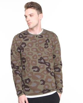 DJP OUTLET - Derek Cats w/ Guns Camo Sweater