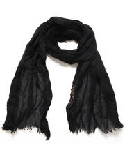 Men - Dip Dye Melange Wool Scarf