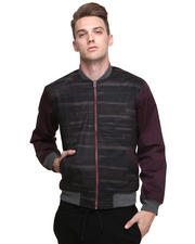 Men - Sliding Digi Bar Waxed Twill Jacket