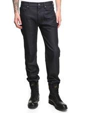 Denim - Waxy Crinkle Straight Leg Jean