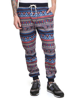 Shades of Grey by Micah Cohen - Egyptian Print Sweatpant
