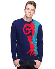 Sweaters - Scroll Crewneck Sweater