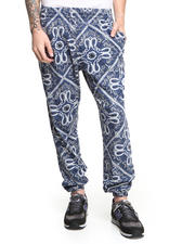 Men - Bandana Print Sweatpant