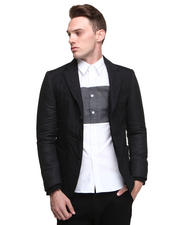 DJP OUTLET - 3B Quilted Blazer w/ Contrast Sleeve