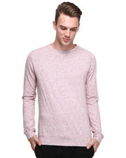 Shades of Grey by Micah Cohen - L/S Rasberry Heather Tee