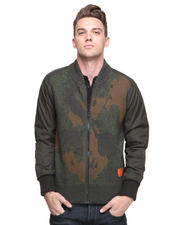 DJP OUTLET - Strike Camo Zipup Sweater