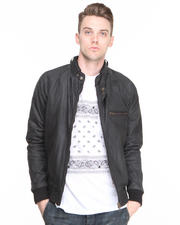 Leather - Clubman Leather Moto Jacket