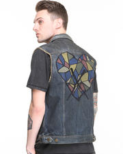 Vests - No-Love Denim Vest