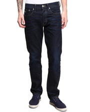 G-STAR - 3301 Paint Splattered Straight Leg Denim