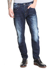"G-STAR - ""A"" Detail Blasted Wash Tapered Leg Jean"