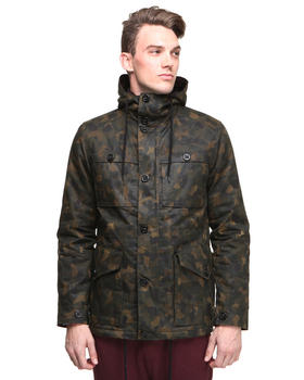 Shades of Grey by Micah Cohen - Camo Waxed Twil Four Pckt Jacket