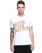 T-Shirts - Ghetto Is The New Rich Tee