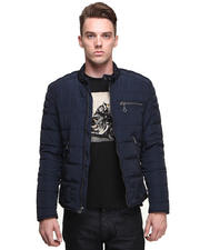 DJP OUTLET - NightShade Nylon Moto Jacket