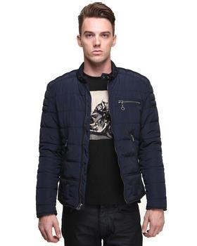 DJP OUTLET - NightShade Nylon Moto Jacket