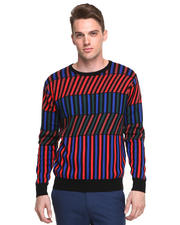 Sweaters - Geometric Theo Hux Sweater