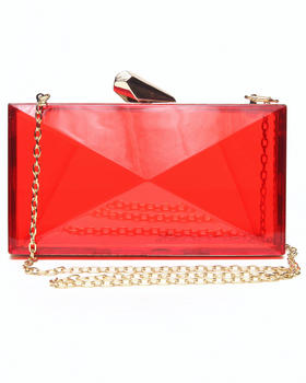 Fashion Lab - Diamond Shape See Thru Hard Case