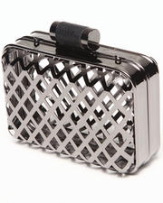 Women - Cage Metal Case Clutch