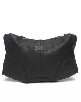 Fashion Lab - Vegan Leather Oversized Clutch